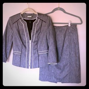NWT Two Piece Suit - Jacket and Skirt